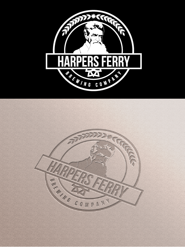 Logo Design by Private User - Entry No. 140 in the Logo Design Contest Unique Logo Design Wanted for Harpers ferry brewing company.
