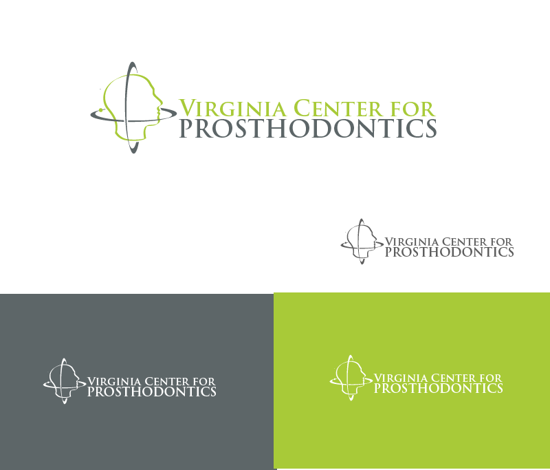 Logo Design by Private User - Entry No. 51 in the Logo Design Contest Imaginative Logo Design for Virginia Center for Prosthodontics.