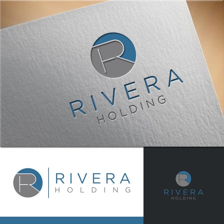 Logo Design by RasYa Muhammad Athaya - Entry No. 62 in the Logo Design Contest RIVERA HOLDING Logo Design.