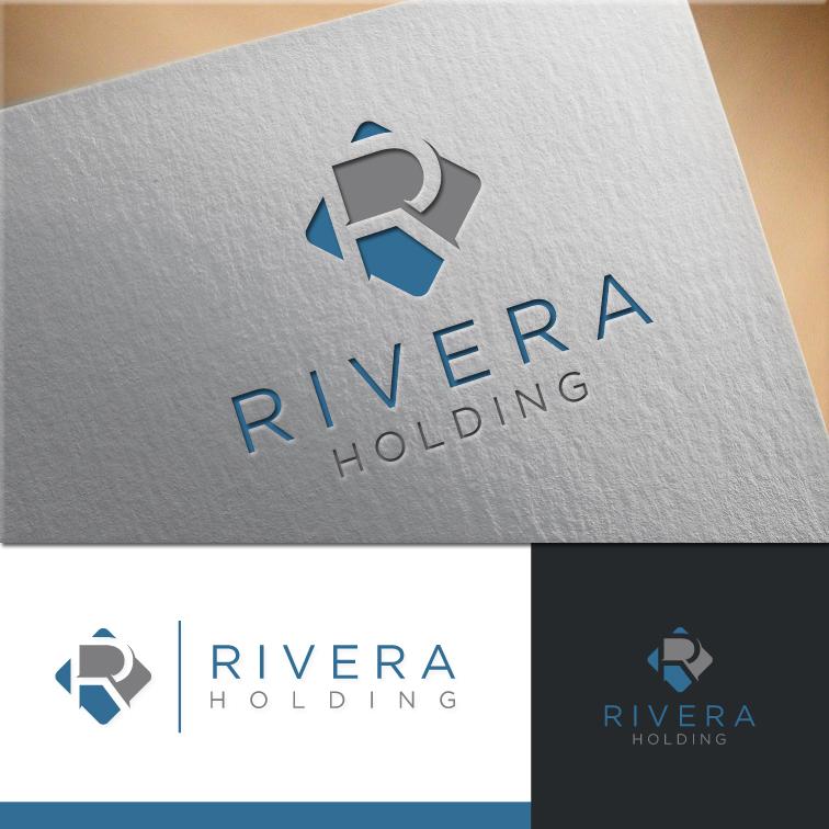 Logo Design by RasYa Muhammad Athaya - Entry No. 64 in the Logo Design Contest RIVERA HOLDING Logo Design.