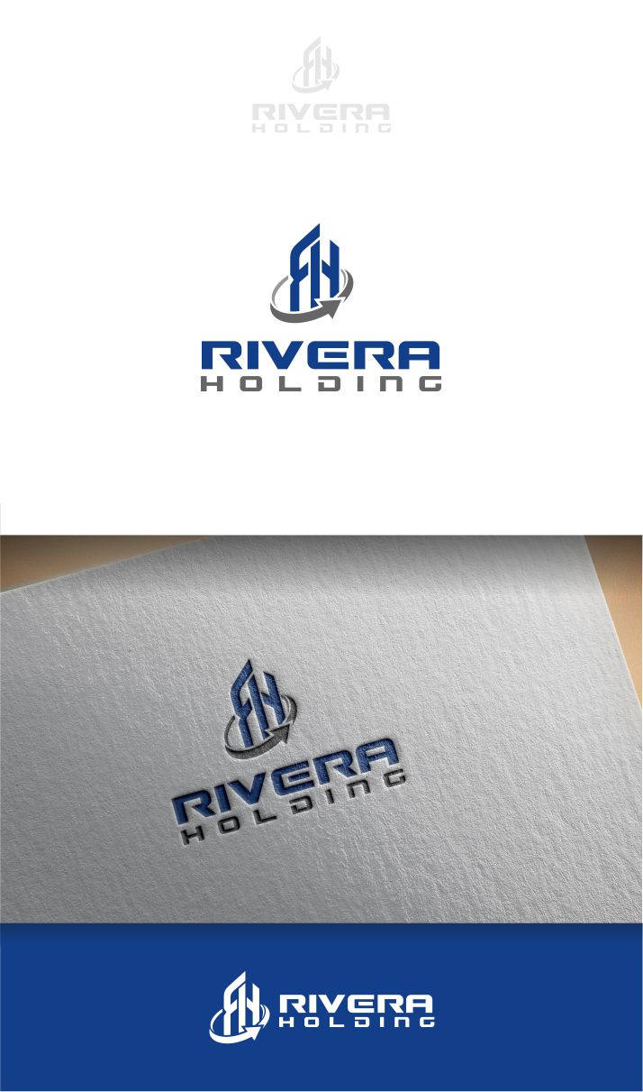 Logo Design by Raymond Garcia - Entry No. 65 in the Logo Design Contest RIVERA HOLDING Logo Design.