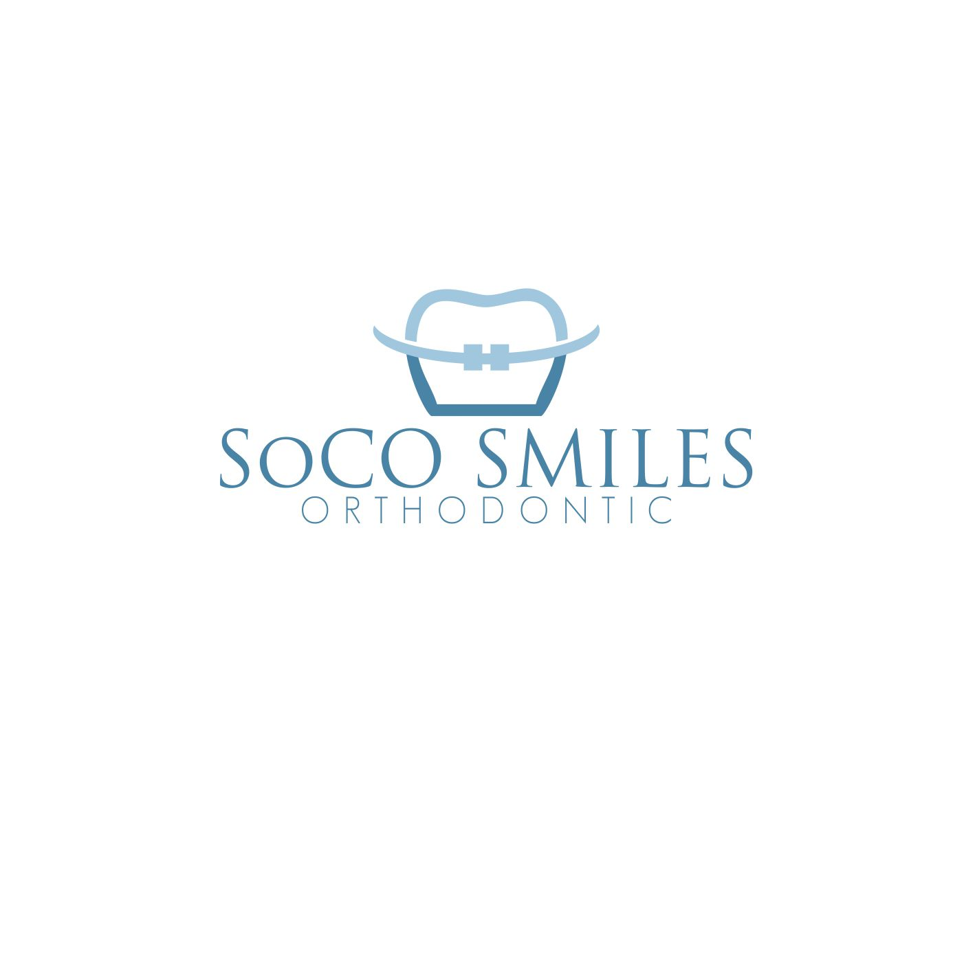 Logo Design by snow - Entry No. 82 in the Logo Design Contest Unique Logo Design Wanted for SoCO Smiles Orthodontics.