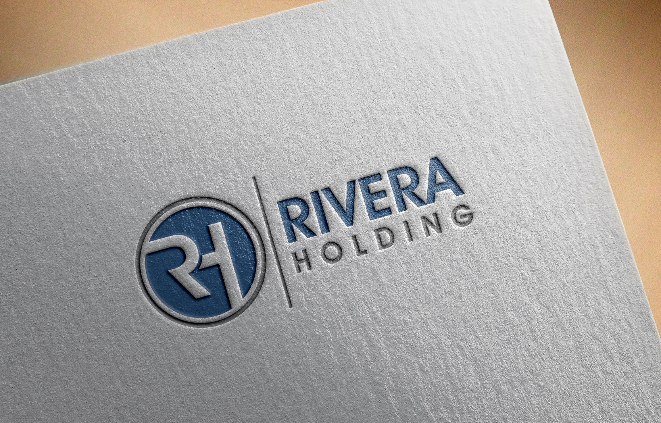 Logo Design by Raymond Garcia - Entry No. 66 in the Logo Design Contest RIVERA HOLDING Logo Design.