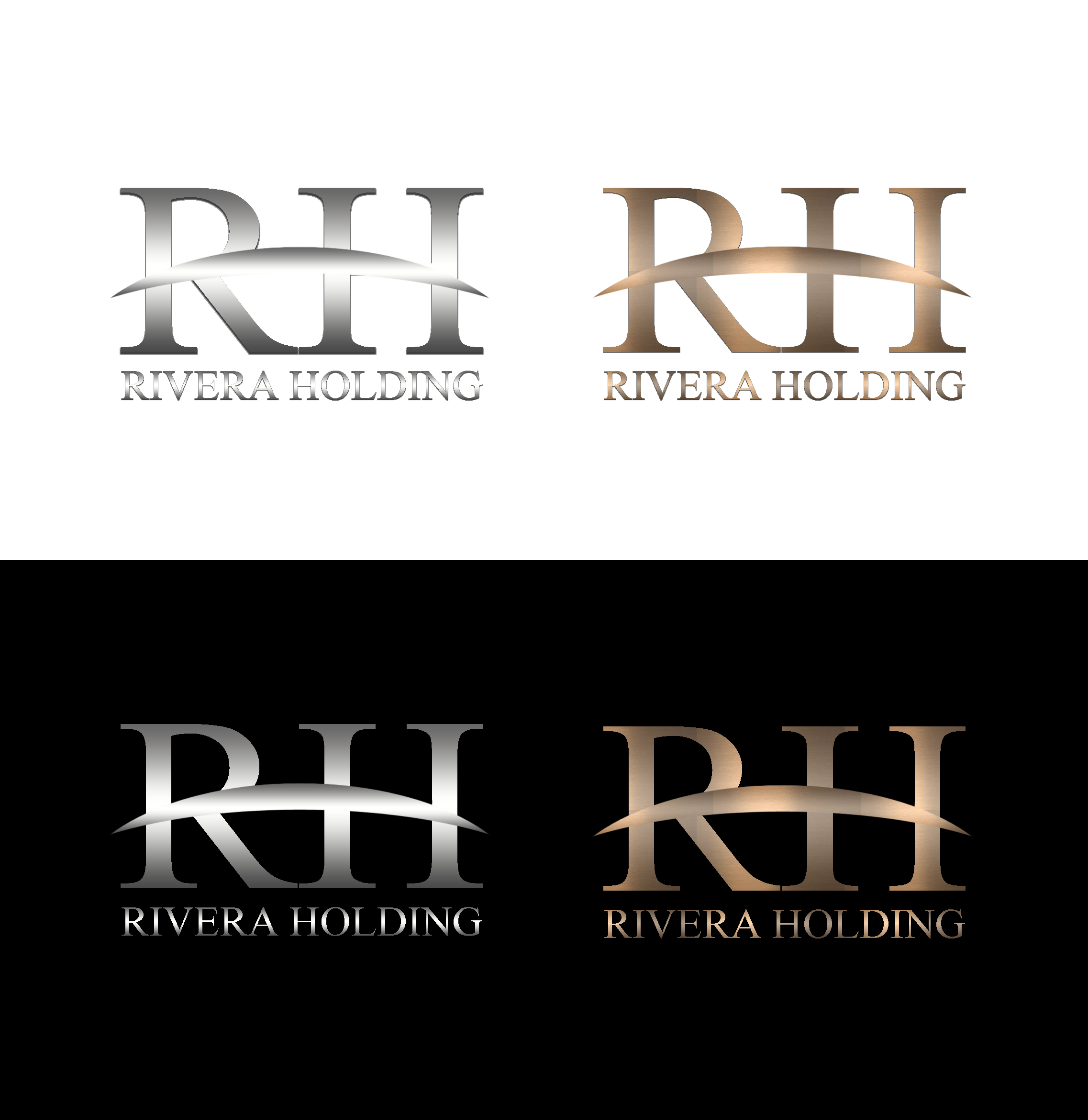 Logo Design by JSDESIGNGROUP - Entry No. 69 in the Logo Design Contest RIVERA HOLDING Logo Design.