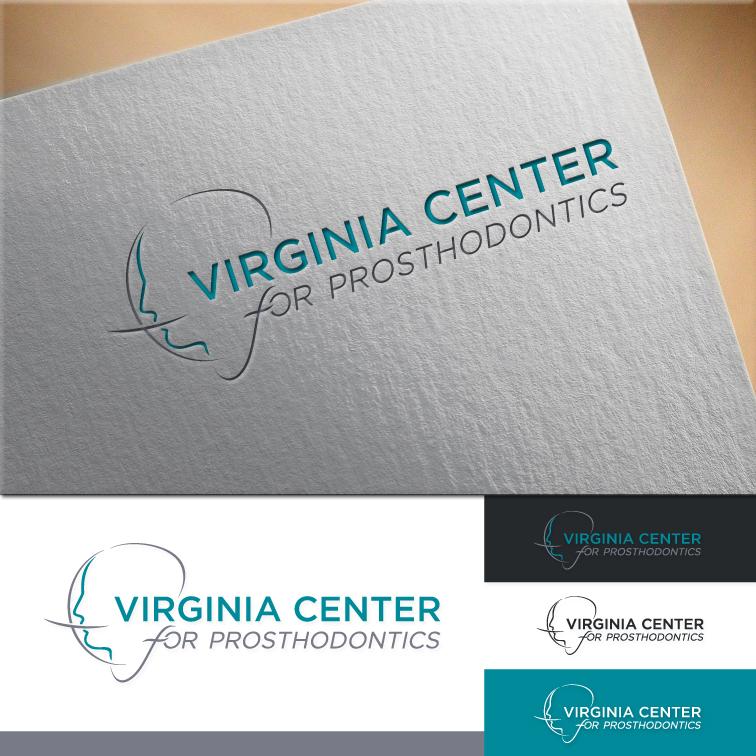 Logo Design by RasYa Muhammad Athaya - Entry No. 58 in the Logo Design Contest Imaginative Logo Design for Virginia Center for Prosthodontics.