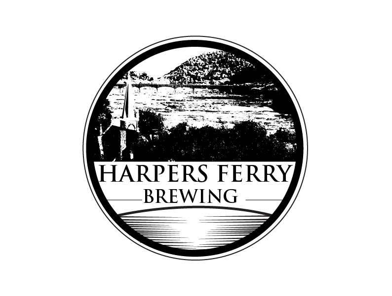 Logo Design by Private User - Entry No. 146 in the Logo Design Contest Unique Logo Design Wanted for Harpers ferry brewing company.
