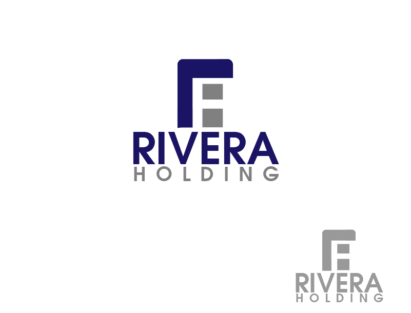 Logo Design by Private User - Entry No. 80 in the Logo Design Contest RIVERA HOLDING Logo Design.