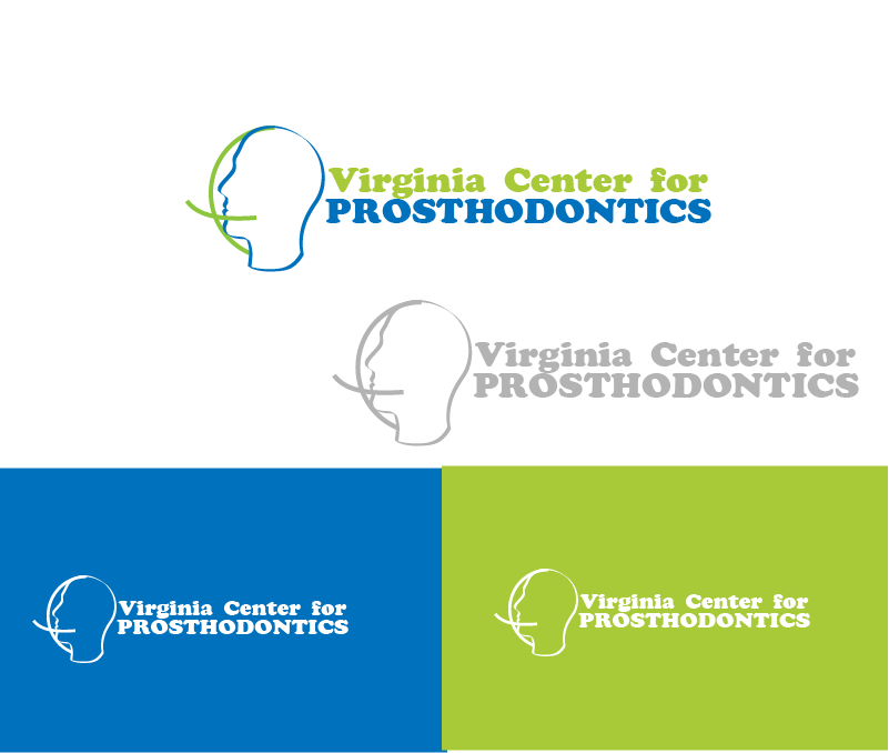 Logo Design by Private User - Entry No. 65 in the Logo Design Contest Imaginative Logo Design for Virginia Center for Prosthodontics.