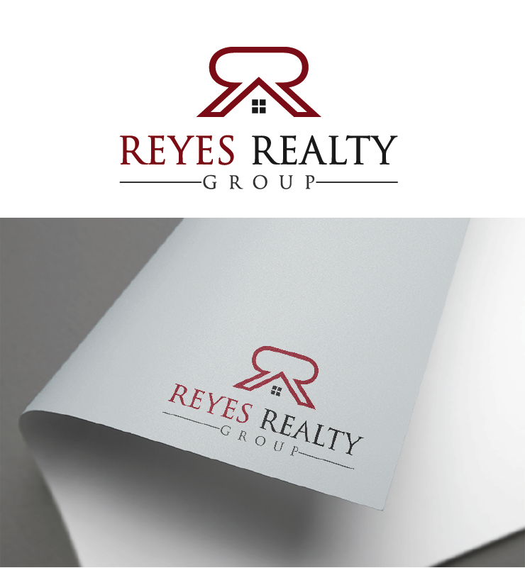 Logo Design by Private User - Entry No. 10 in the Logo Design Contest Reyes Realty Group Logo Design.