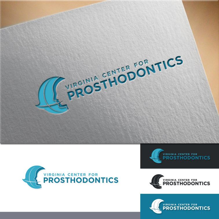 Logo Design by RasYa Muhammad Athaya - Entry No. 67 in the Logo Design Contest Imaginative Logo Design for Virginia Center for Prosthodontics.
