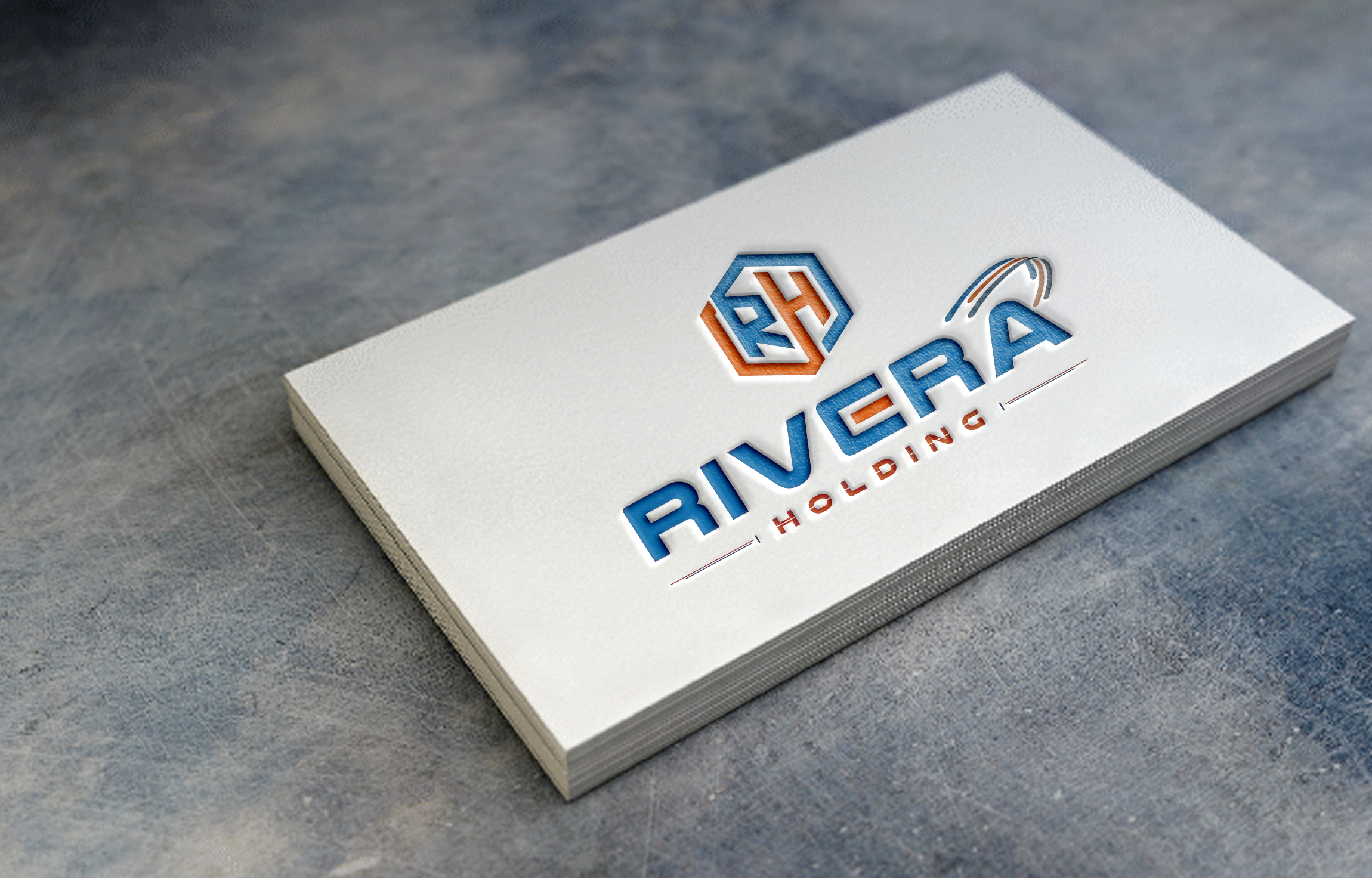 Logo Design by NOOR SYAIFUDDIN - Entry No. 91 in the Logo Design Contest RIVERA HOLDING Logo Design.