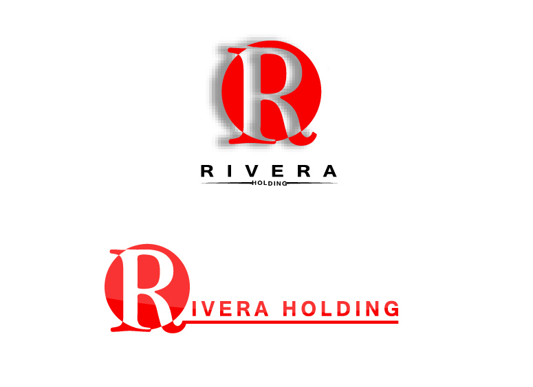 Logo Design by Business Ideas - Entry No. 93 in the Logo Design Contest RIVERA HOLDING Logo Design.