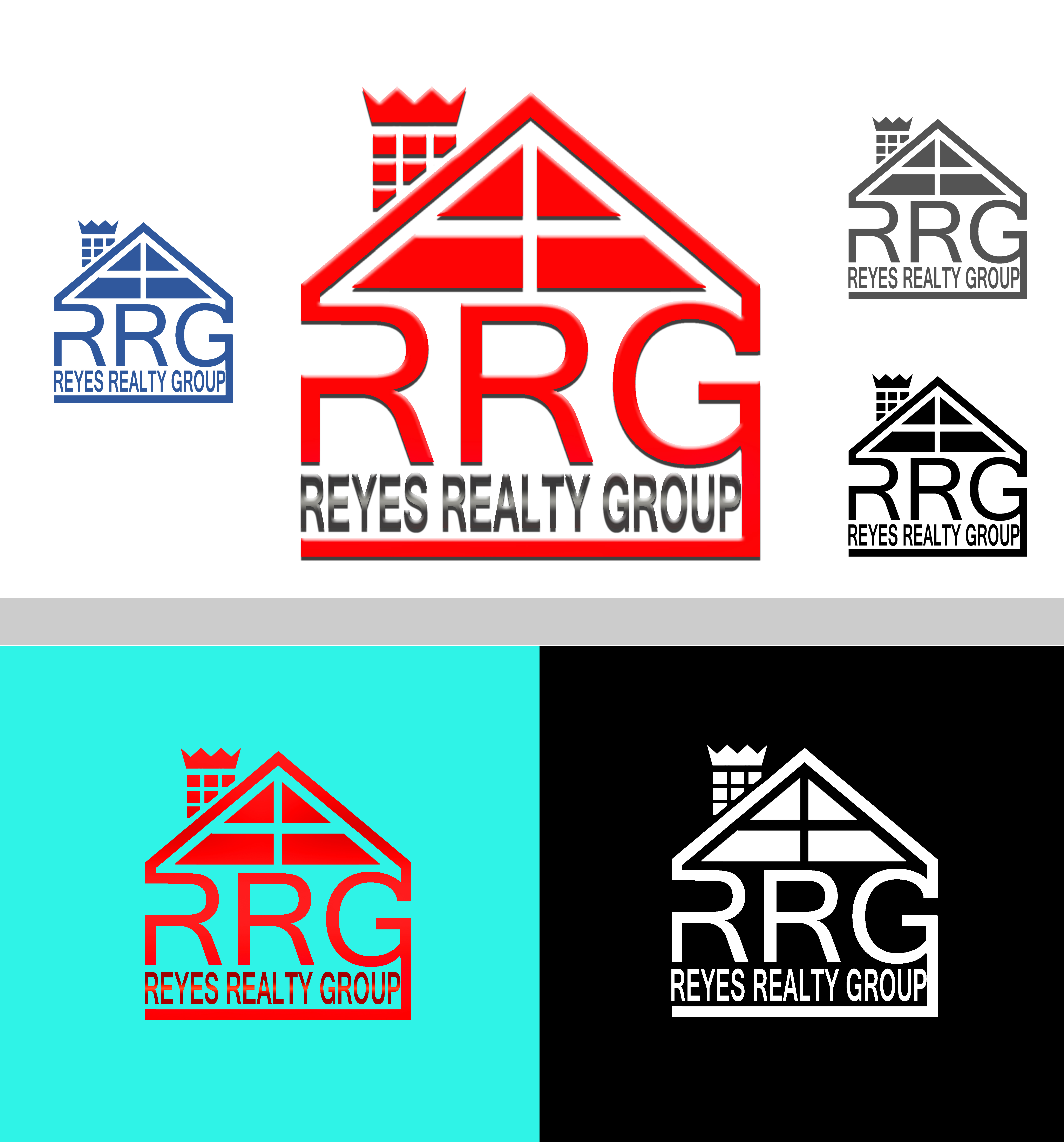 Logo Design by JSDESIGNGROUP - Entry No. 15 in the Logo Design Contest Reyes Realty Group Logo Design.