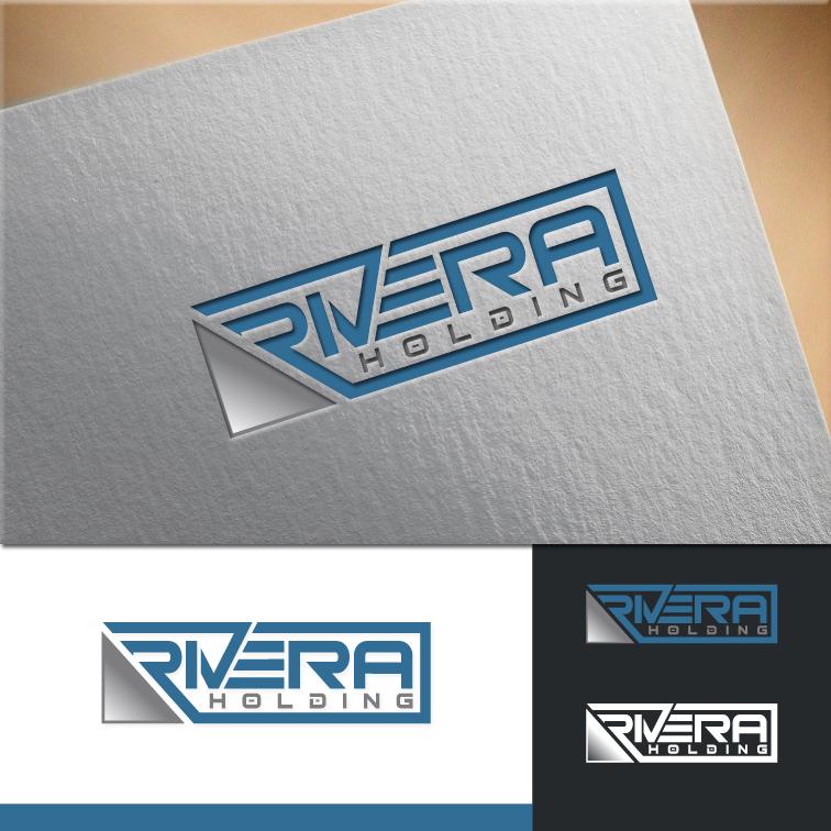 Logo Design by RasYa Muhammad Athaya - Entry No. 98 in the Logo Design Contest RIVERA HOLDING Logo Design.