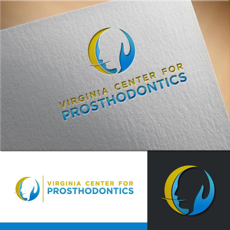 Logo Design by RasYa Muhammad Athaya - Entry No. 75 in the Logo Design Contest Imaginative Logo Design for Virginia Center for Prosthodontics.