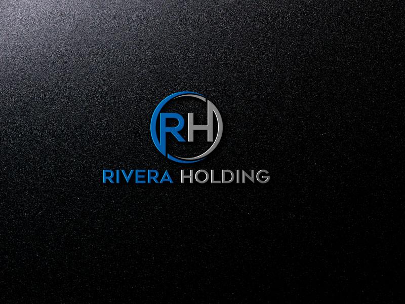 Logo Design by Private User - Entry No. 108 in the Logo Design Contest RIVERA HOLDING Logo Design.