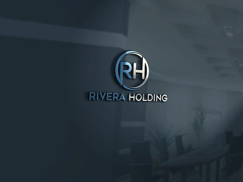 Logo Design by Private User - Entry No. 109 in the Logo Design Contest RIVERA HOLDING Logo Design.