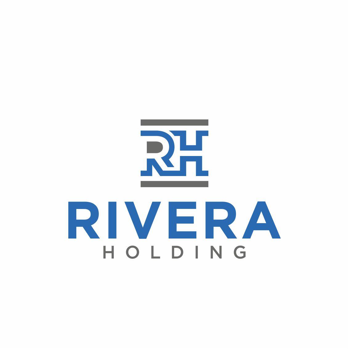 Logo Design by RasYa Muhammad Athaya - Entry No. 121 in the Logo Design Contest RIVERA HOLDING Logo Design.