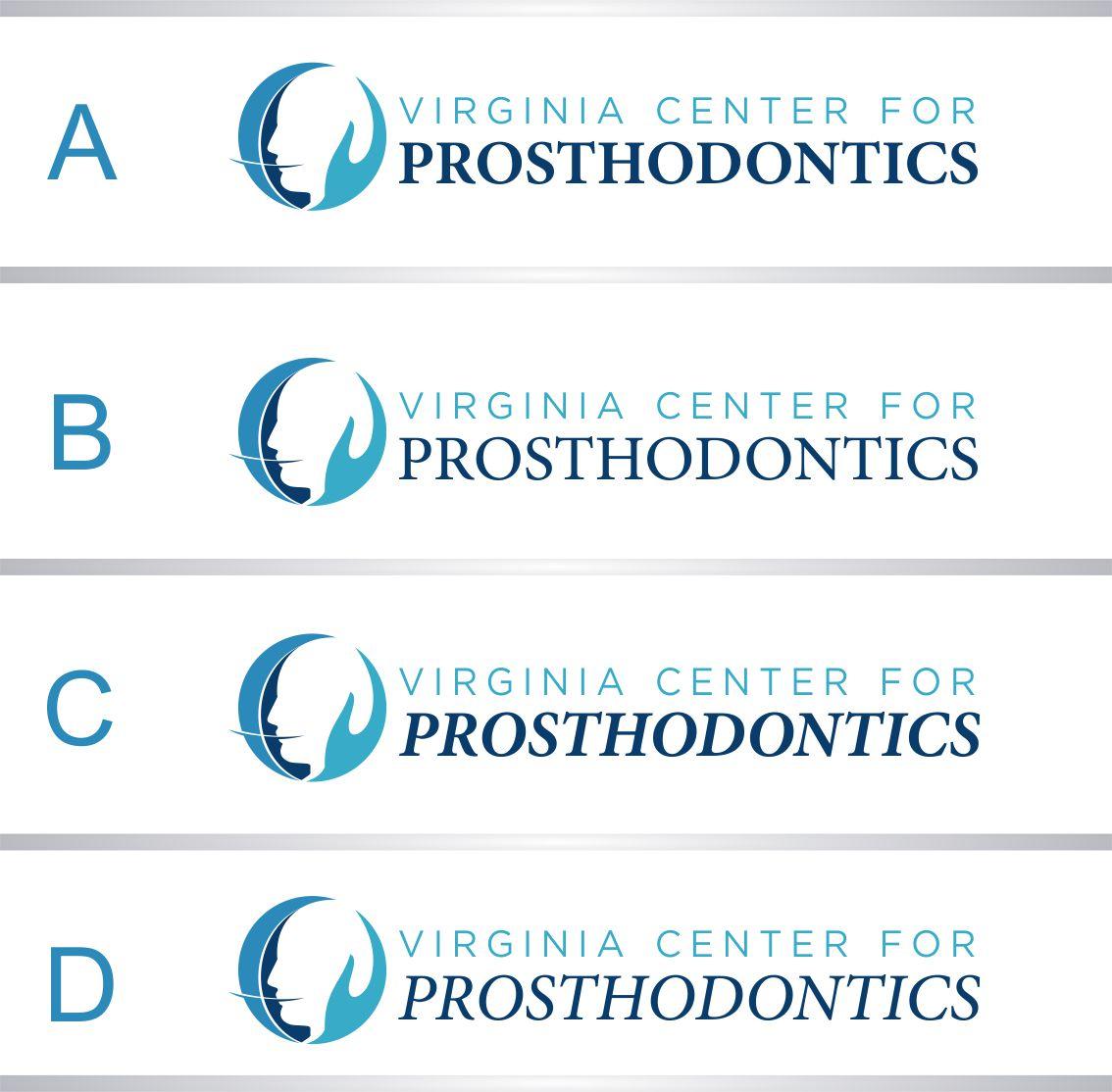 Logo Design by RasYa Muhammad Athaya - Entry No. 81 in the Logo Design Contest Imaginative Logo Design for Virginia Center for Prosthodontics.