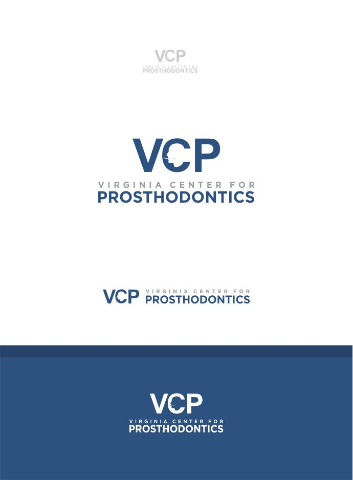 Logo Design by Raymond Garcia - Entry No. 83 in the Logo Design Contest Imaginative Logo Design for Virginia Center for Prosthodontics.