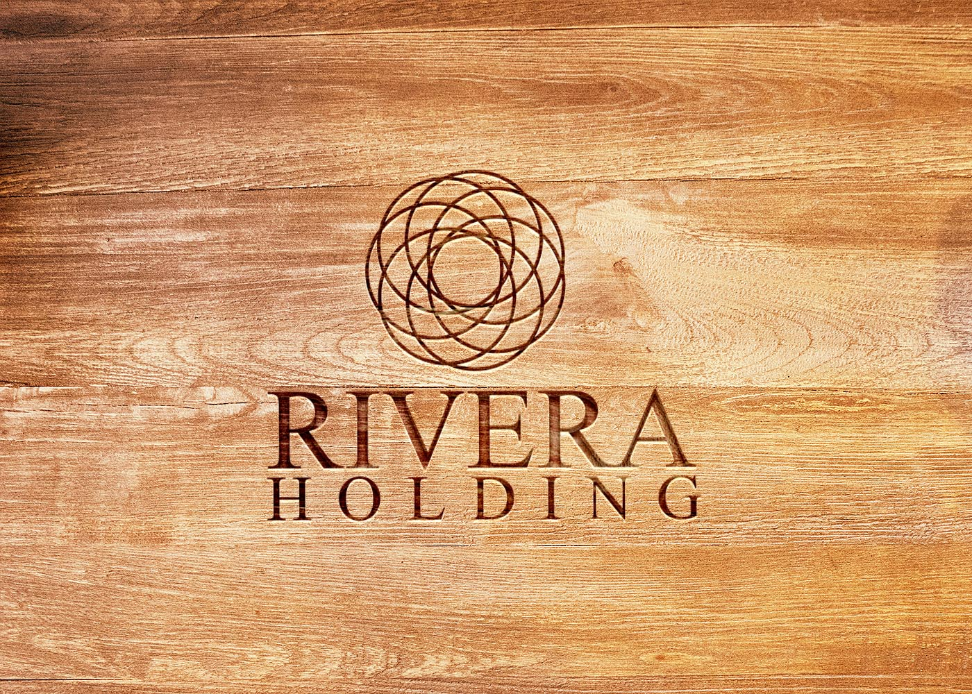 Logo Design by Tauhedul Islam - Entry No. 124 in the Logo Design Contest RIVERA HOLDING Logo Design.