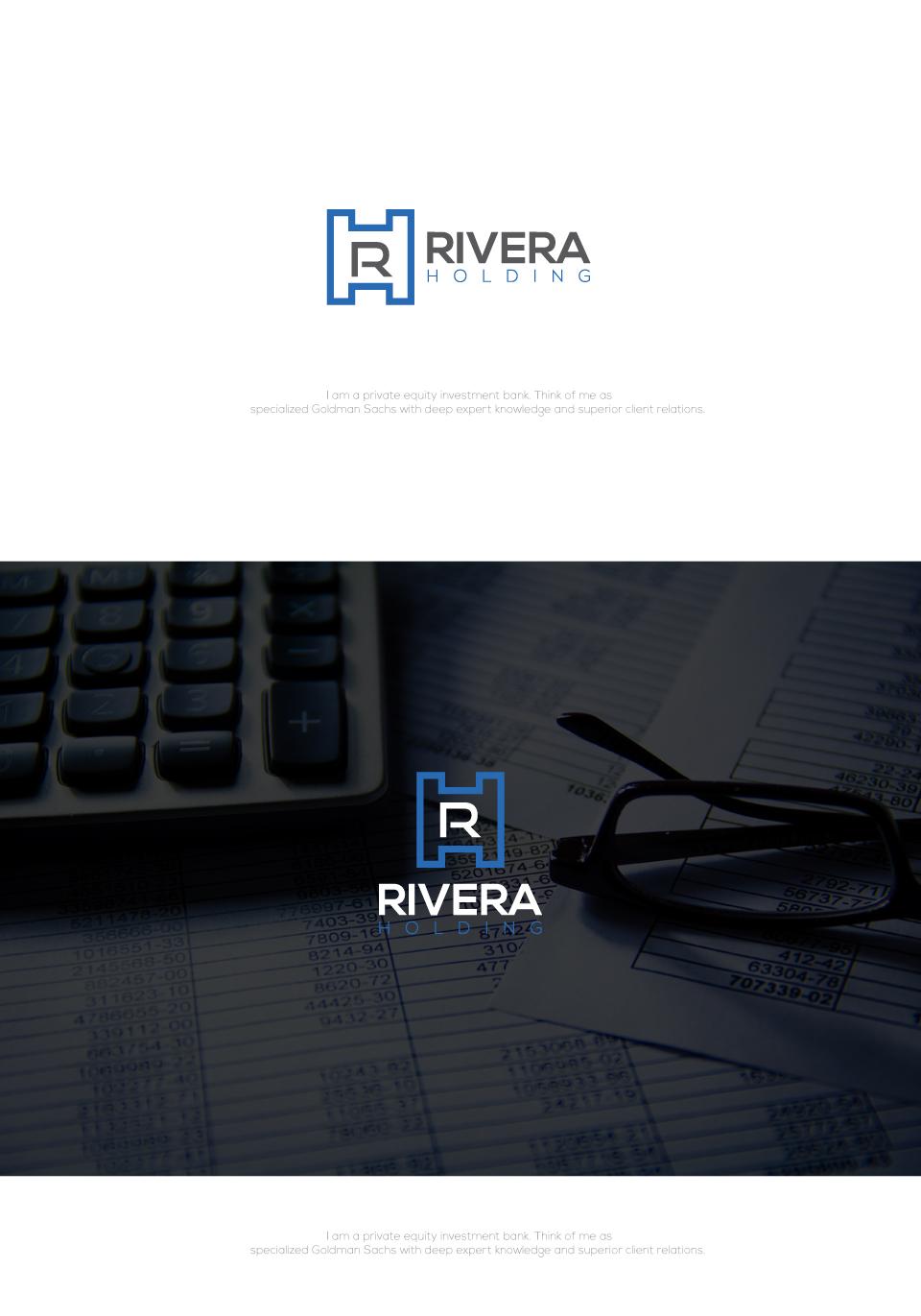 Logo Design by Md Sohal - Entry No. 129 in the Logo Design Contest RIVERA HOLDING Logo Design.