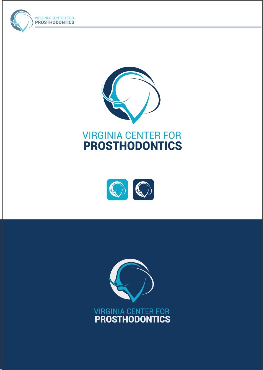Logo Design by ian69 - Entry No. 85 in the Logo Design Contest Imaginative Logo Design for Virginia Center for Prosthodontics.