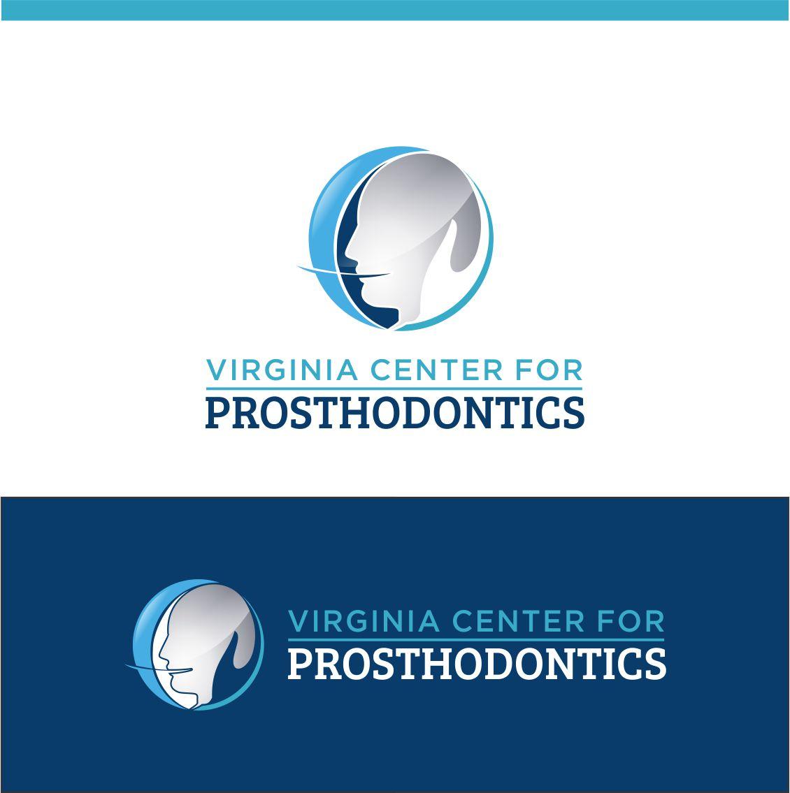 Logo Design by RasYa Muhammad Athaya - Entry No. 89 in the Logo Design Contest Imaginative Logo Design for Virginia Center for Prosthodontics.