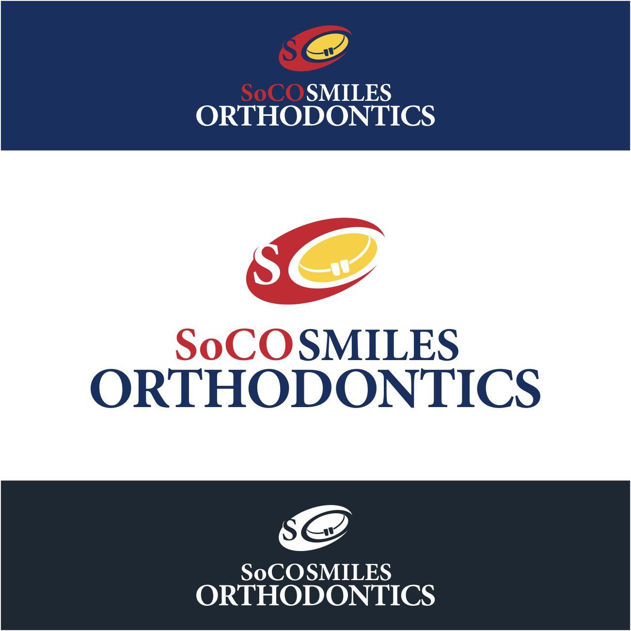 Logo Design by RasYa Muhammad Athaya - Entry No. 98 in the Logo Design Contest Unique Logo Design Wanted for SoCO Smiles Orthodontics.