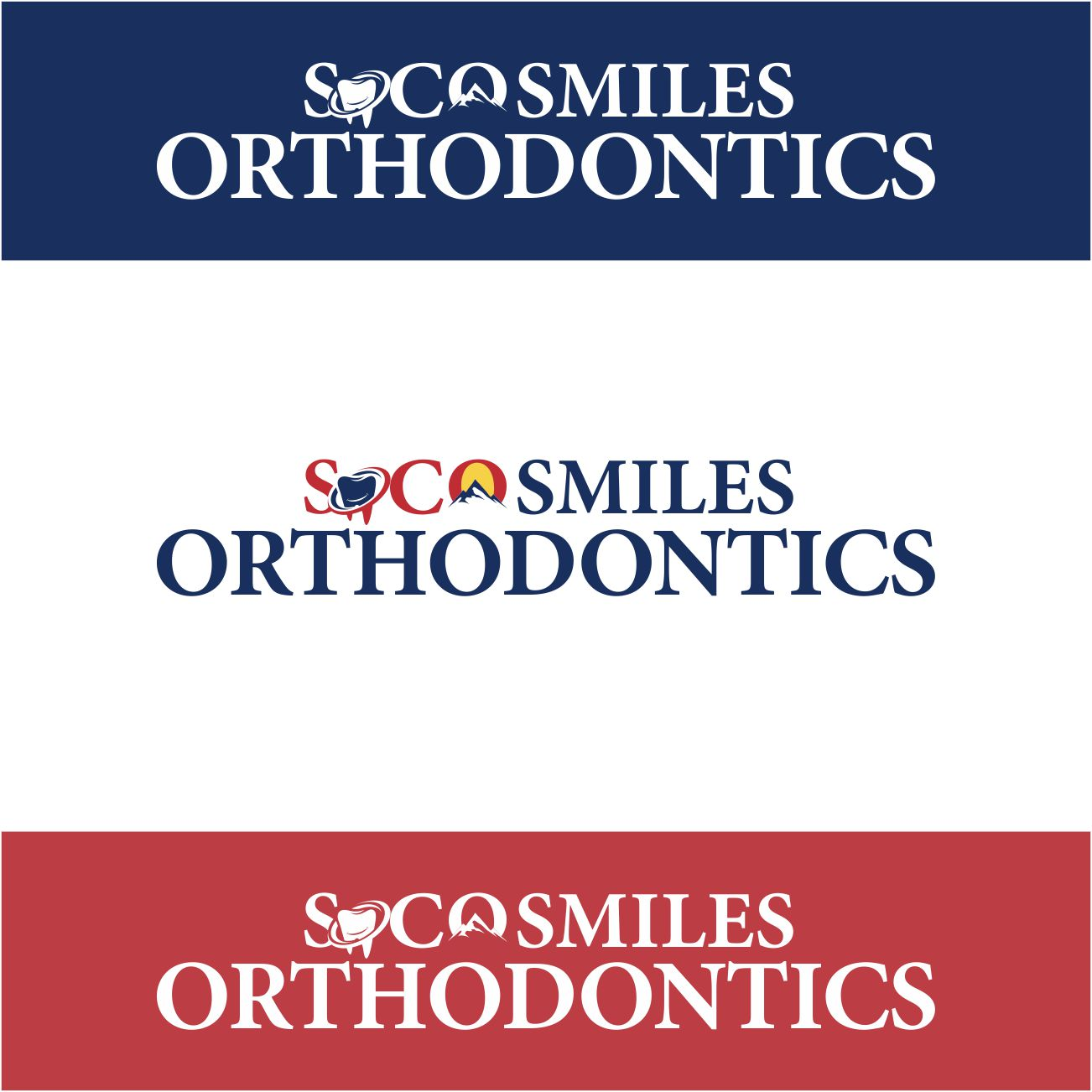 Logo Design by RasYa Muhammad Athaya - Entry No. 99 in the Logo Design Contest Unique Logo Design Wanted for SoCO Smiles Orthodontics.
