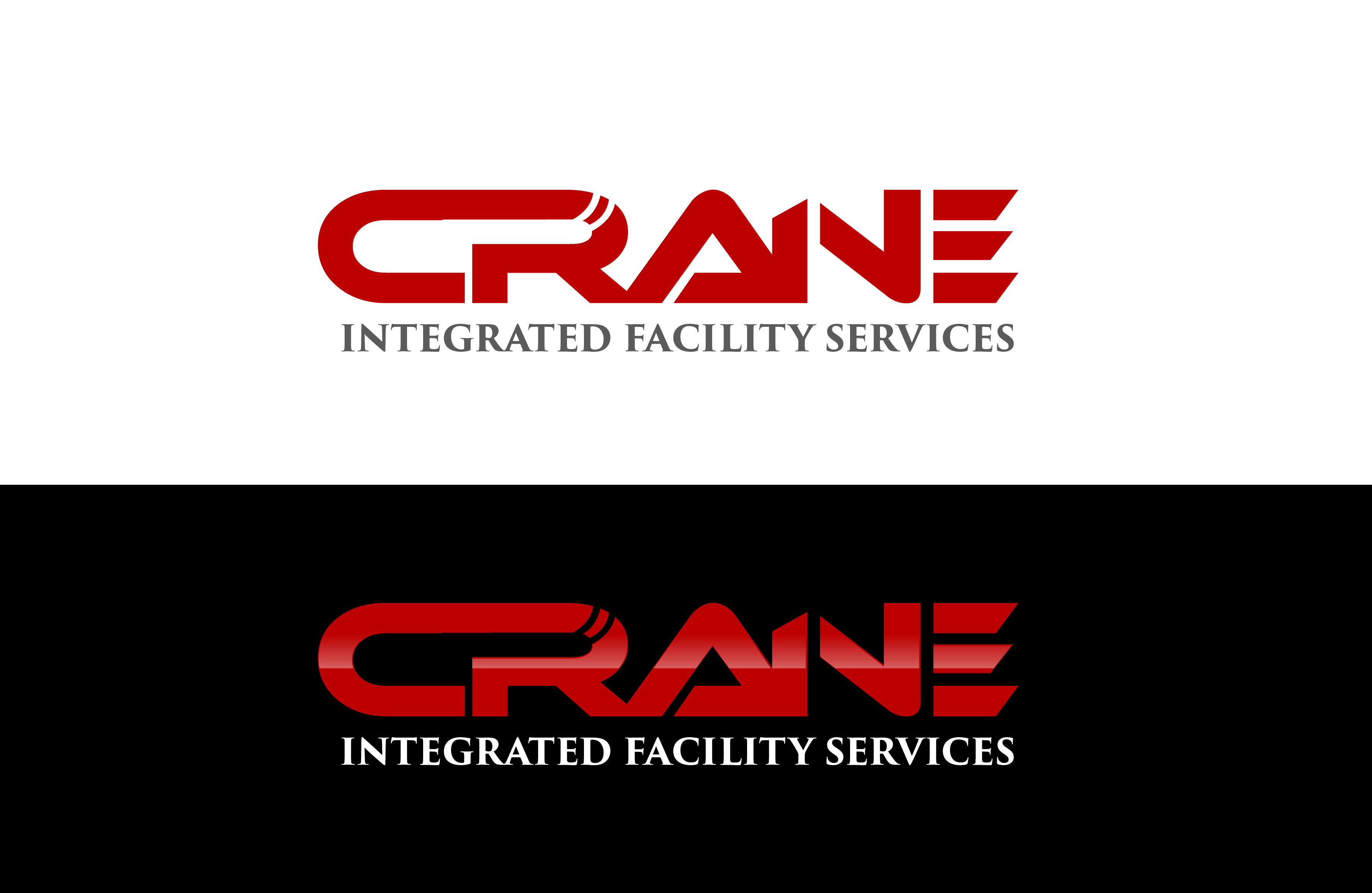Logo Design by Cyril bail Geronimo - Entry No. 23 in the Logo Design Contest Inspiring Logo Design for Crane Integrated Facility Services.
