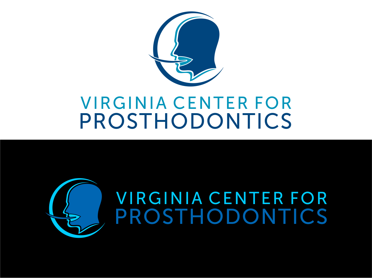 Logo Design by Private User - Entry No. 95 in the Logo Design Contest Imaginative Logo Design for Virginia Center for Prosthodontics.