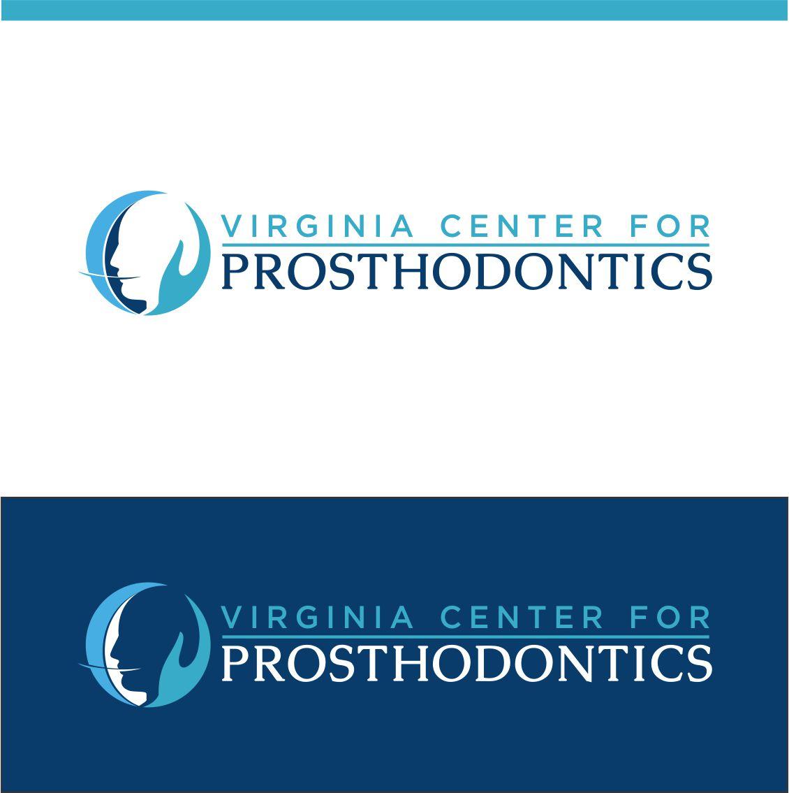 Logo Design by RasYa Muhammad Athaya - Entry No. 105 in the Logo Design Contest Imaginative Logo Design for Virginia Center for Prosthodontics.