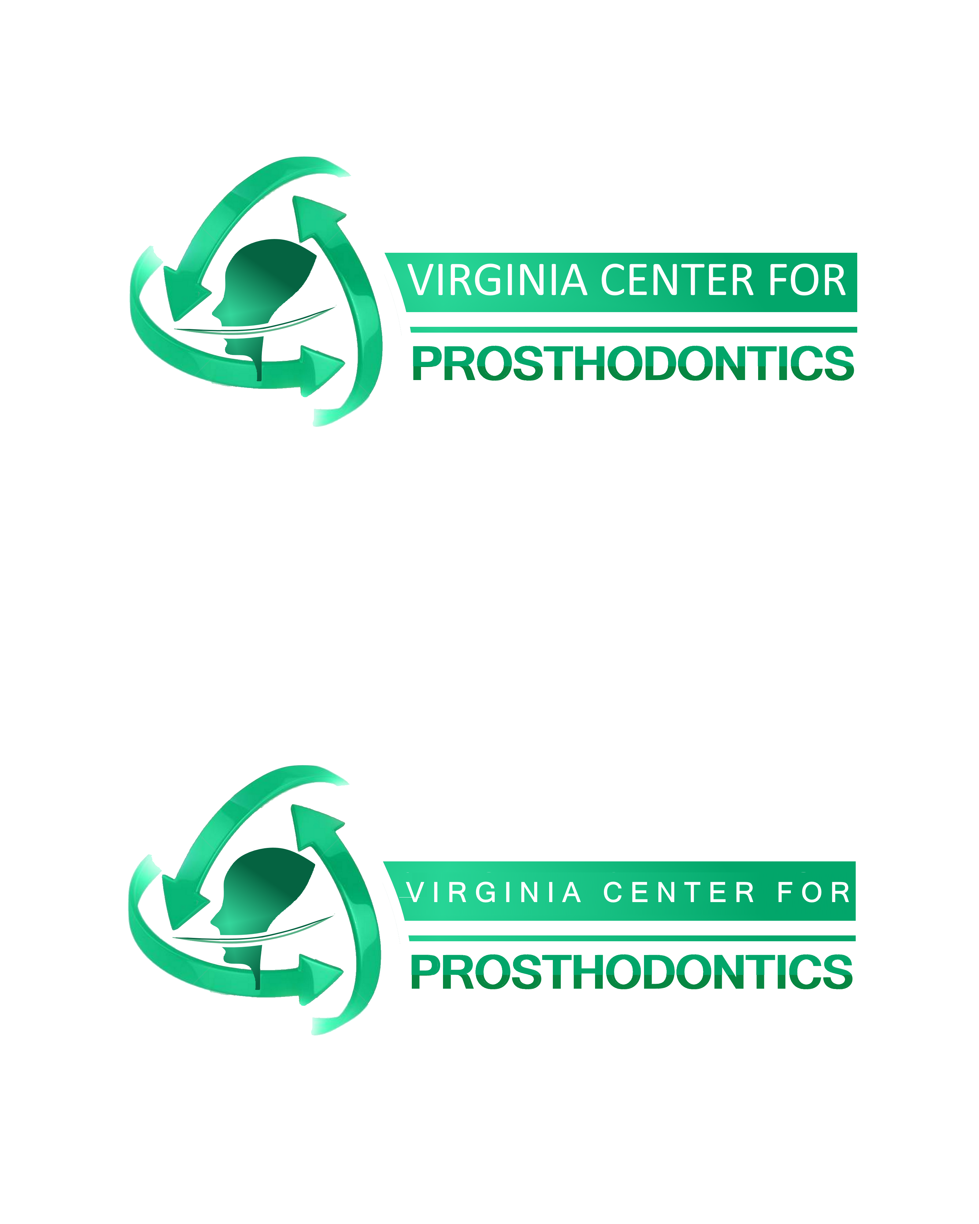 Logo Design by Roberto Bassi - Entry No. 106 in the Logo Design Contest Imaginative Logo Design for Virginia Center for Prosthodontics.