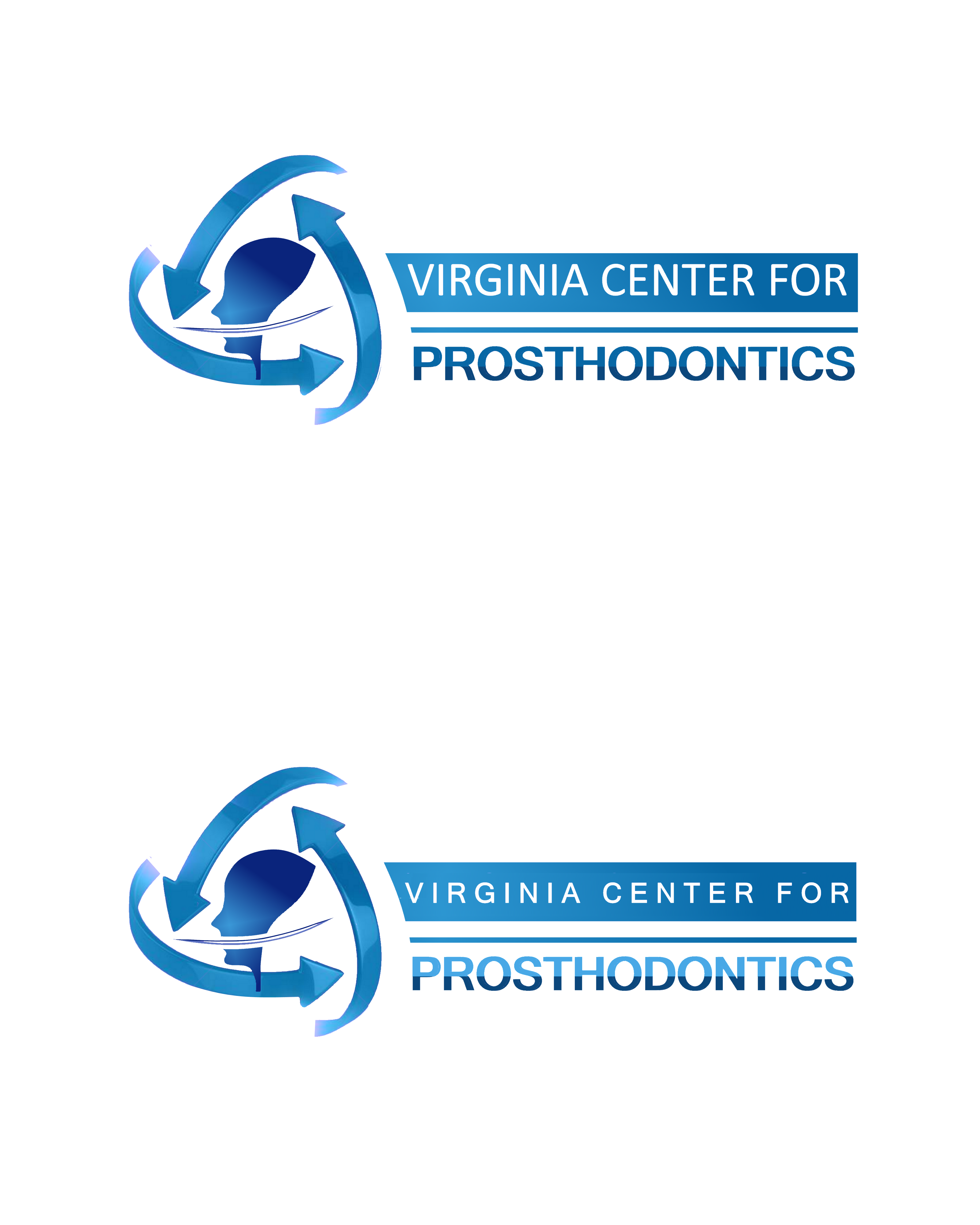 Logo Design by Roberto Bassi - Entry No. 108 in the Logo Design Contest Imaginative Logo Design for Virginia Center for Prosthodontics.