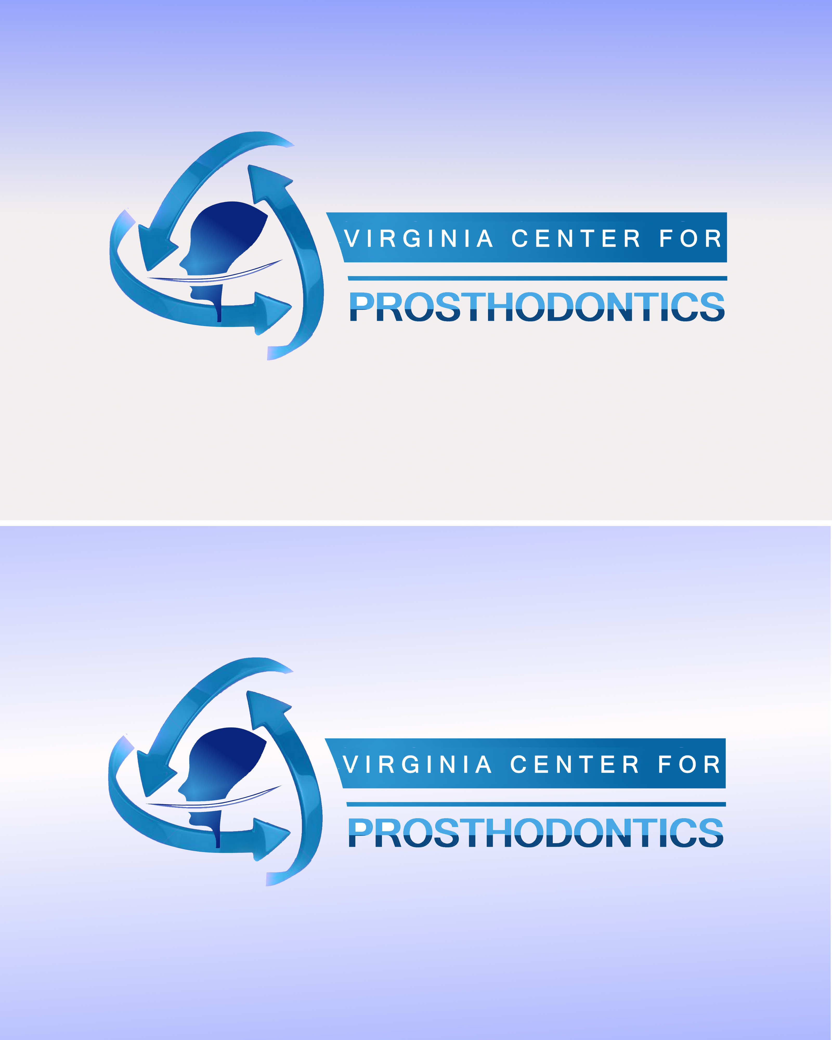Logo Design by Roberto Bassi - Entry No. 109 in the Logo Design Contest Imaginative Logo Design for Virginia Center for Prosthodontics.