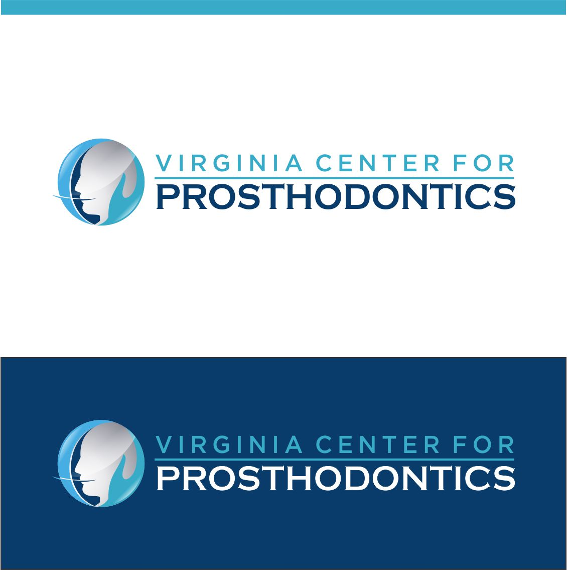 Logo Design by RasYa Muhammad Athaya - Entry No. 110 in the Logo Design Contest Imaginative Logo Design for Virginia Center for Prosthodontics.