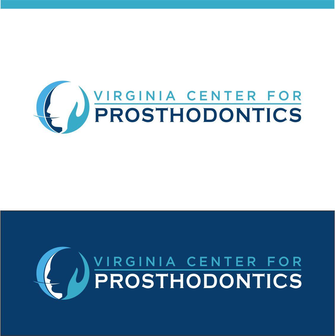 Logo Design by RasYa Muhammad Athaya - Entry No. 111 in the Logo Design Contest Imaginative Logo Design for Virginia Center for Prosthodontics.