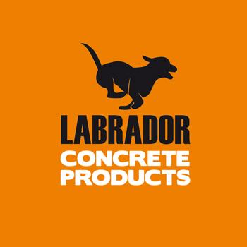 Logo Design by DINOO45 - Entry No. 150 in the Logo Design Contest Logo for Labrador Concrete Products.