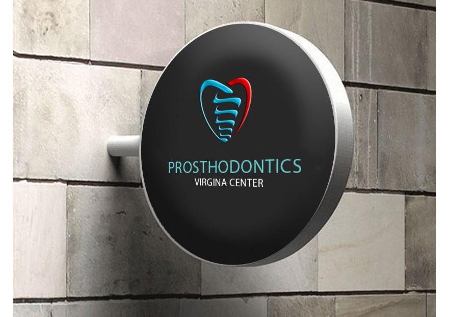 Logo Design by Serhat Doymuş - Entry No. 118 in the Logo Design Contest Imaginative Logo Design for Virginia Center for Prosthodontics.