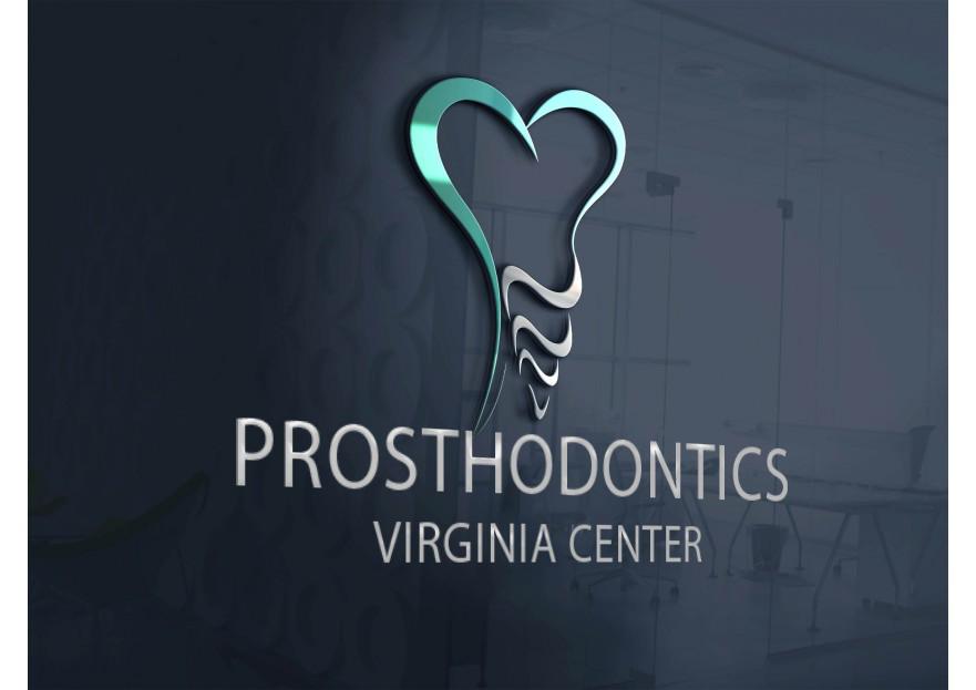Logo Design by Serhat Doymuş - Entry No. 122 in the Logo Design Contest Imaginative Logo Design for Virginia Center for Prosthodontics.