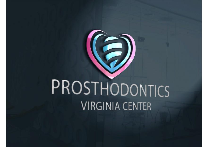 Logo Design by Serhat Doymuş - Entry No. 123 in the Logo Design Contest Imaginative Logo Design for Virginia Center for Prosthodontics.