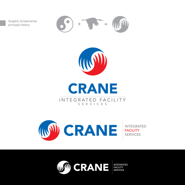 Logo Design by Private User - Entry No. 54 in the Logo Design Contest Inspiring Logo Design for Crane Integrated Facility Services.