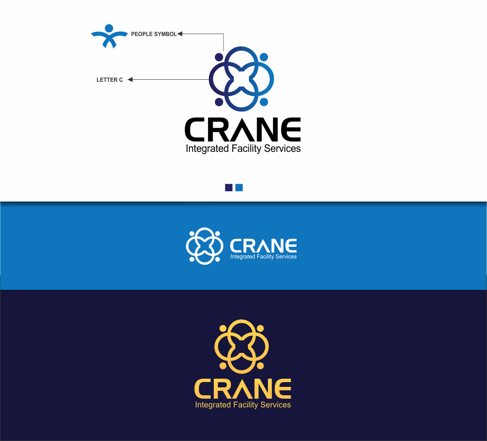 Logo Design by Greenleaf Design - Entry No. 67 in the Logo Design Contest Inspiring Logo Design for Crane Integrated Facility Services.