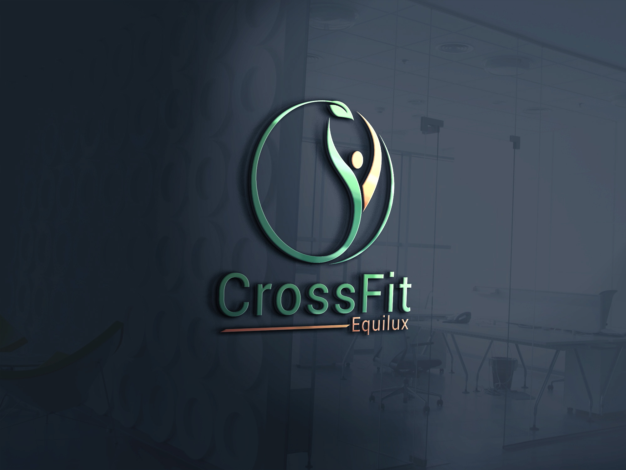 Logo Design by Md Rakibul Hasan - Entry No. 53 in the Logo Design Contest Unique Logo Design Wanted for CrossFit Equilux.