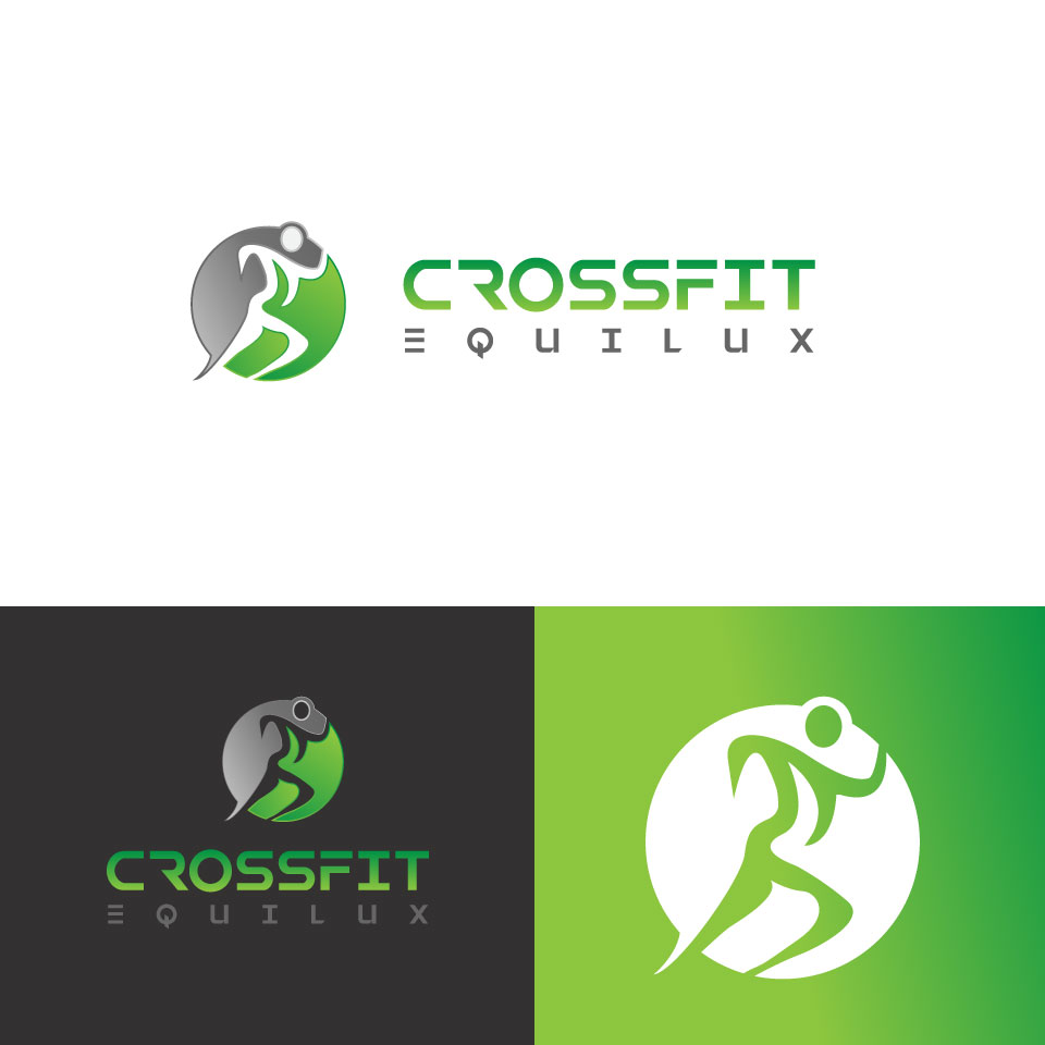 Logo Design by Md Rakibul Hasan - Entry No. 71 in the Logo Design Contest Unique Logo Design Wanted for CrossFit Equilux.