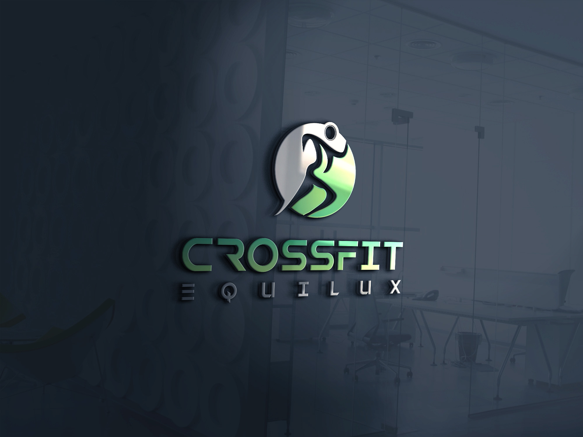 Logo Design by Md Rakibul Hasan - Entry No. 73 in the Logo Design Contest Unique Logo Design Wanted for CrossFit Equilux.