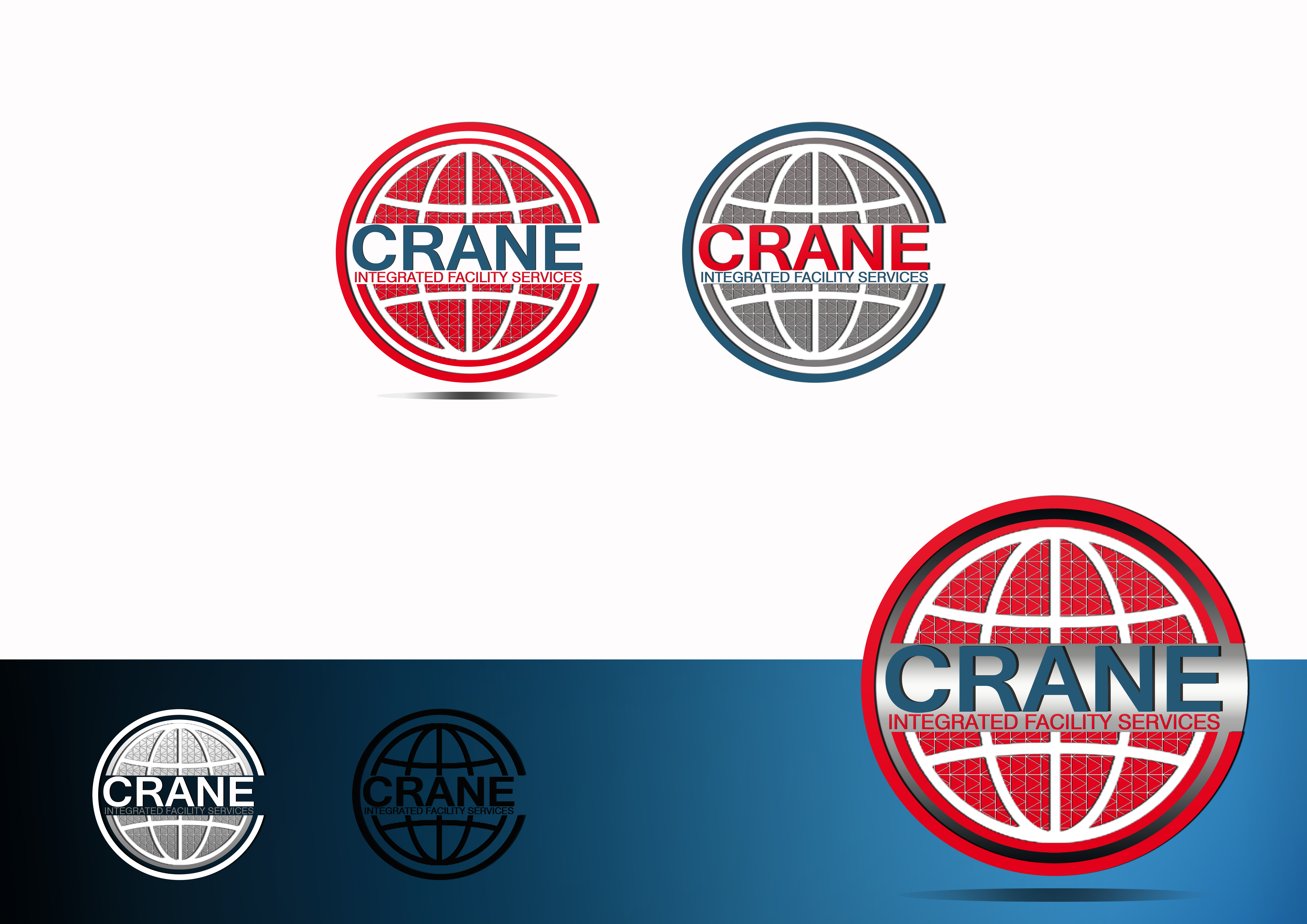 Logo Design by JSDESIGNGROUP - Entry No. 77 in the Logo Design Contest Inspiring Logo Design for Crane Integrated Facility Services.