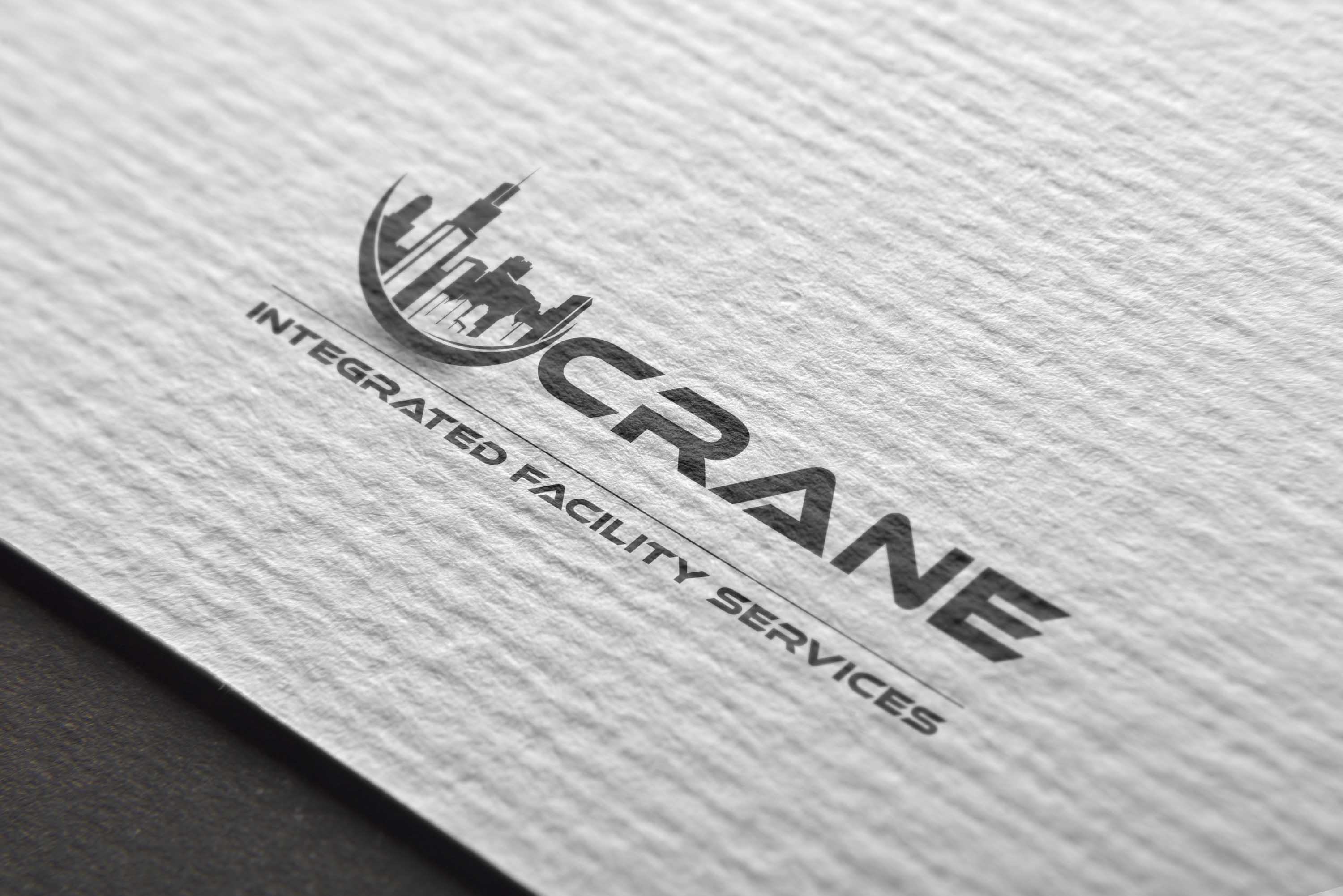 Logo Design by brands_in - Entry No. 87 in the Logo Design Contest Inspiring Logo Design for Crane Integrated Facility Services.