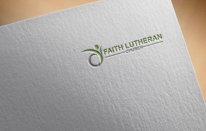 Logo Design by Mohammad azad Hossain - Entry No. 13 in the Logo Design Contest Logo Design for Faith Lutheran Church.